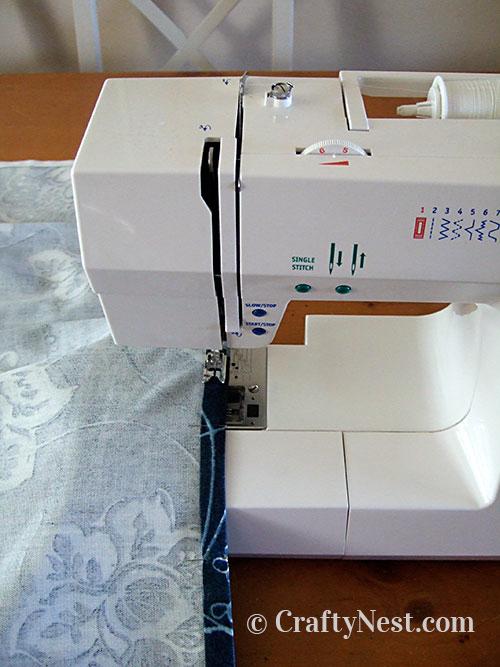 Sew the seam, photo