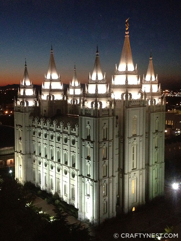 Salt Lake City Temple, photo