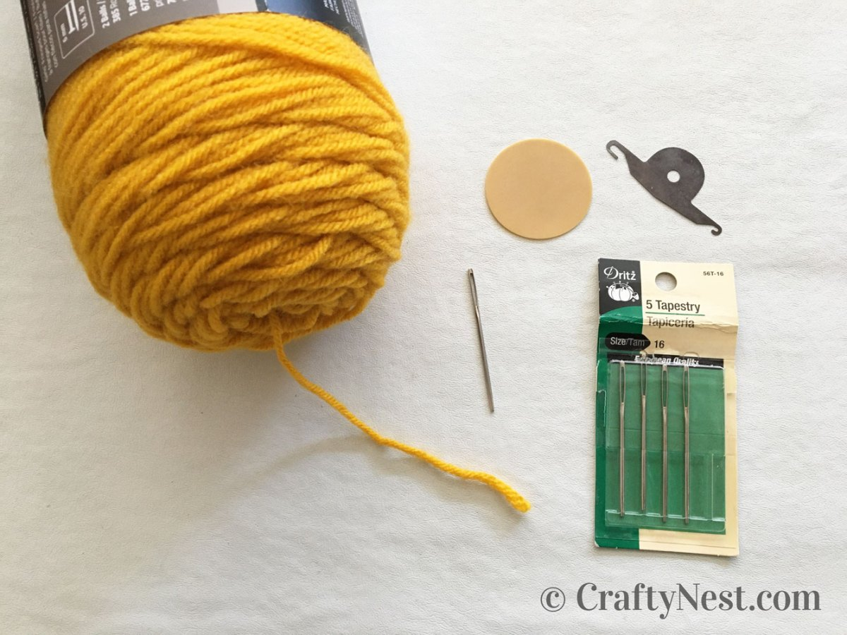 Tools for cross-stitching, photo