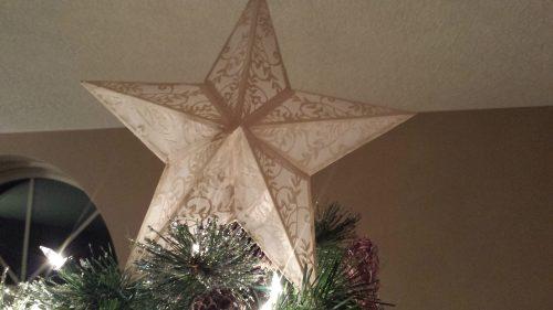 DIY Christmas Star Lantern