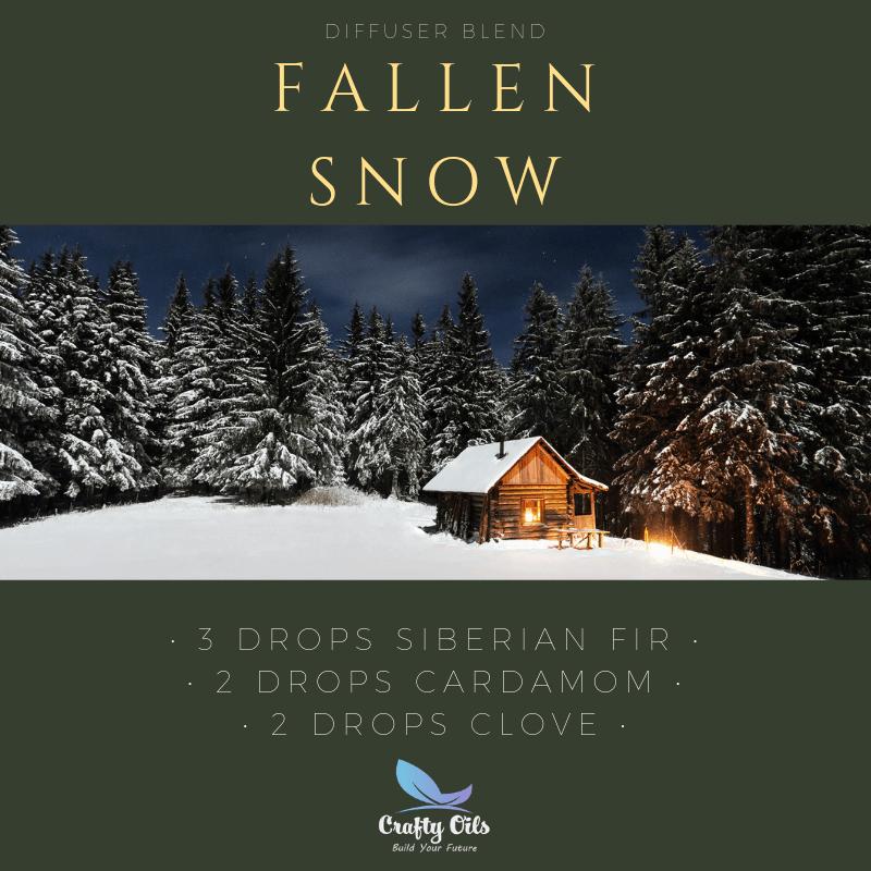 Fallen Snow Diffuser Blend
