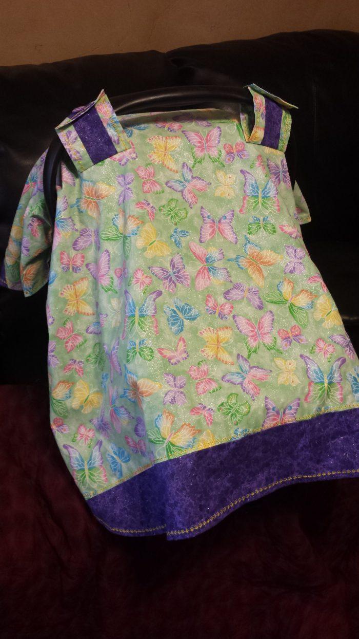 Custom Baby Seat Cover
