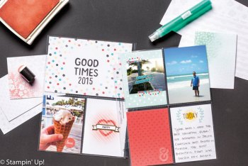 Memories in the Making Project Life Specialty Card Collection by Stampin' Up!