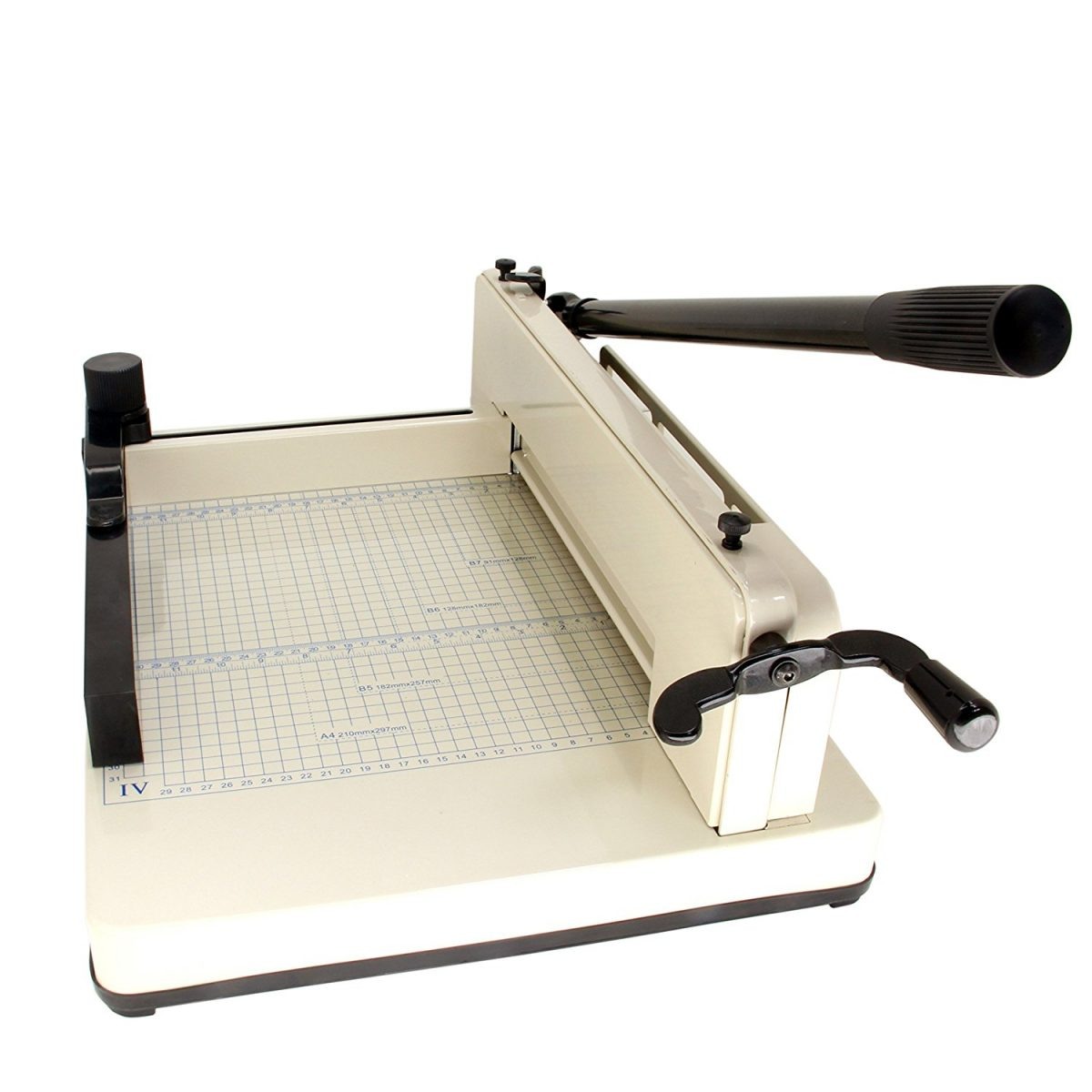 "HFS (R) New Heavy Duty Guillotine Paper Cutter - 12"" Commercial Metal Base A3/A4 Trimmer"