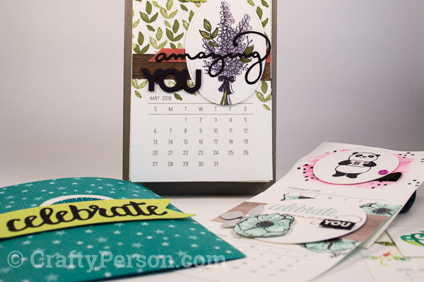 Sale-A-Bration Mini Calendar Gift Set