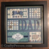 Truly Tailored Dad Frame $12.00 (includes frame)
