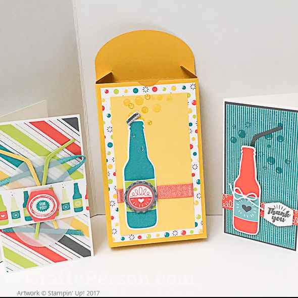 CS14-Bubbles & Fizz Box with 3 Cards