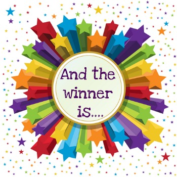 Image result for giveaway winner clipart