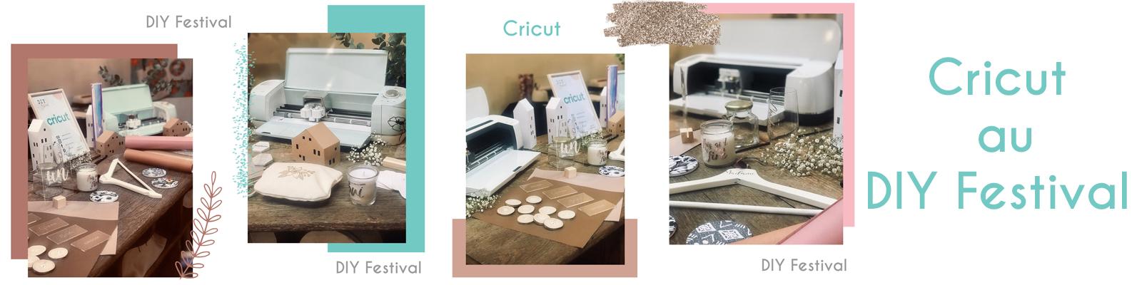 Cricut au DIY Festival à Paris – Deuxième édition