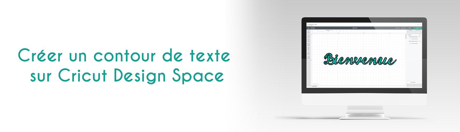 Créer un contour de texte sur Cricut Design Space