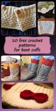 boot-cuff crochet