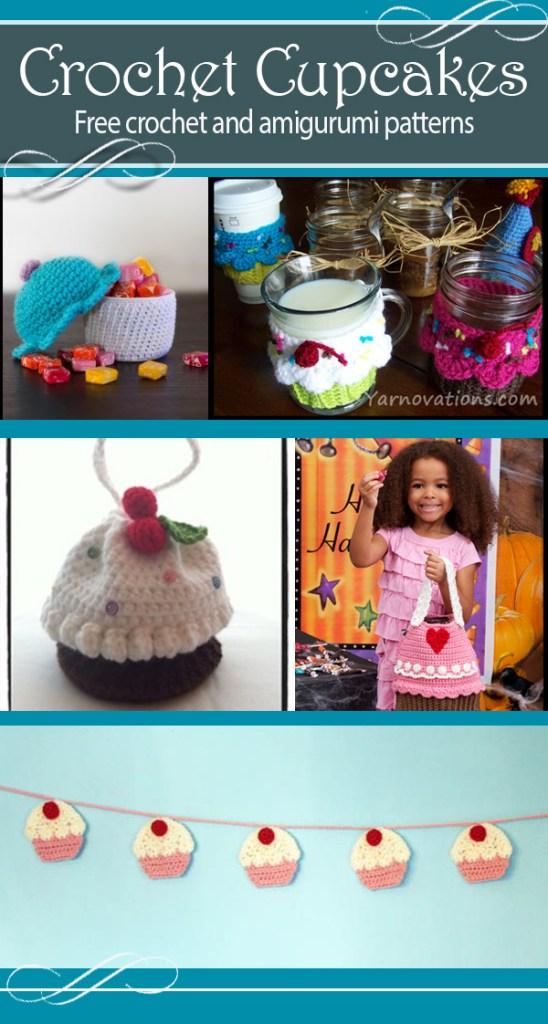 Crochet cupcake free crochet patterns