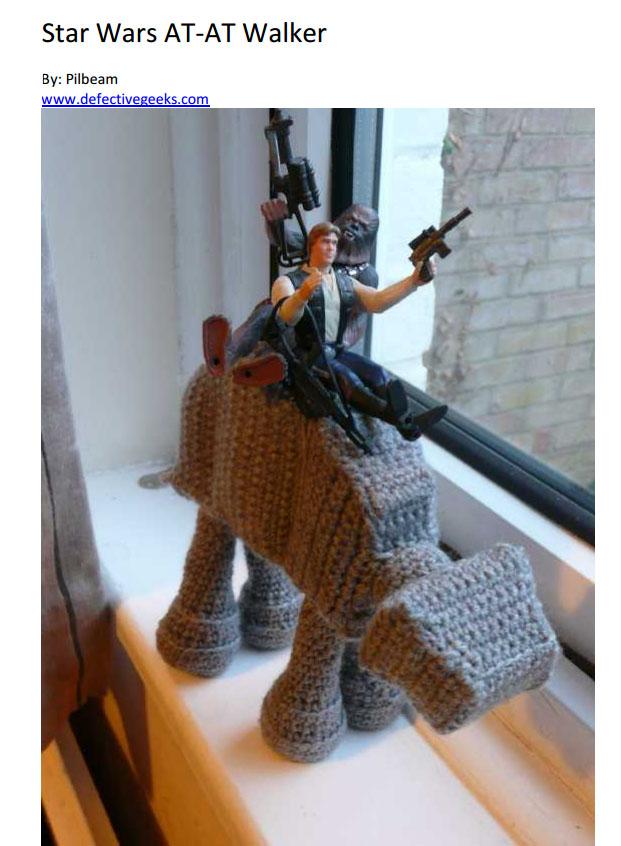 Star Wars Crochet Pattern AT AT walker