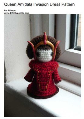 Star Wars Crochet Pattern amidala amigurumi
