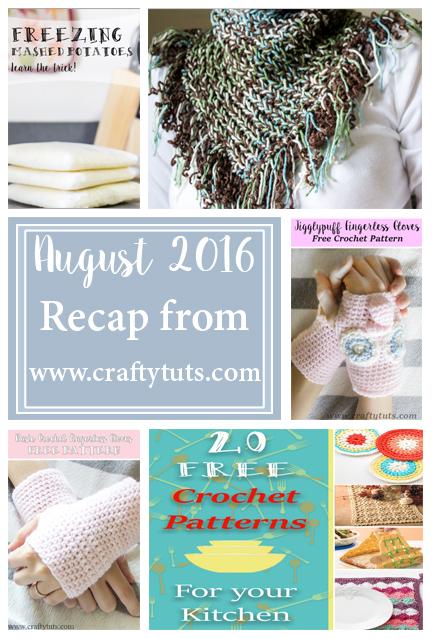 August 2016 Recap