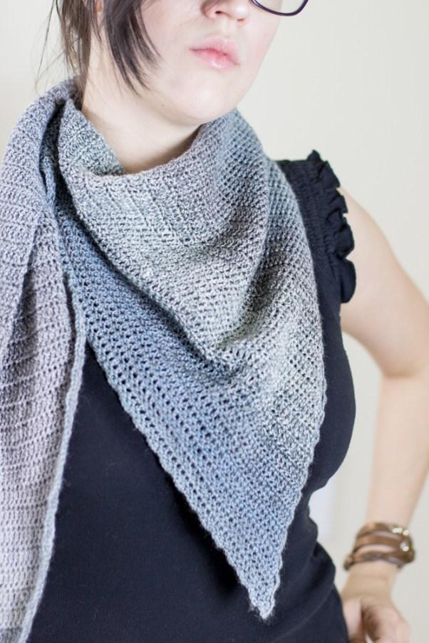 Asymmetrical dreams shawlcrochet pattern