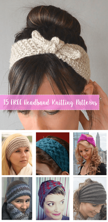 Miraculous 15 Free Knitting Headbands Patterns Crafty Tutorials Download Free Architecture Designs Terchretrmadebymaigaardcom