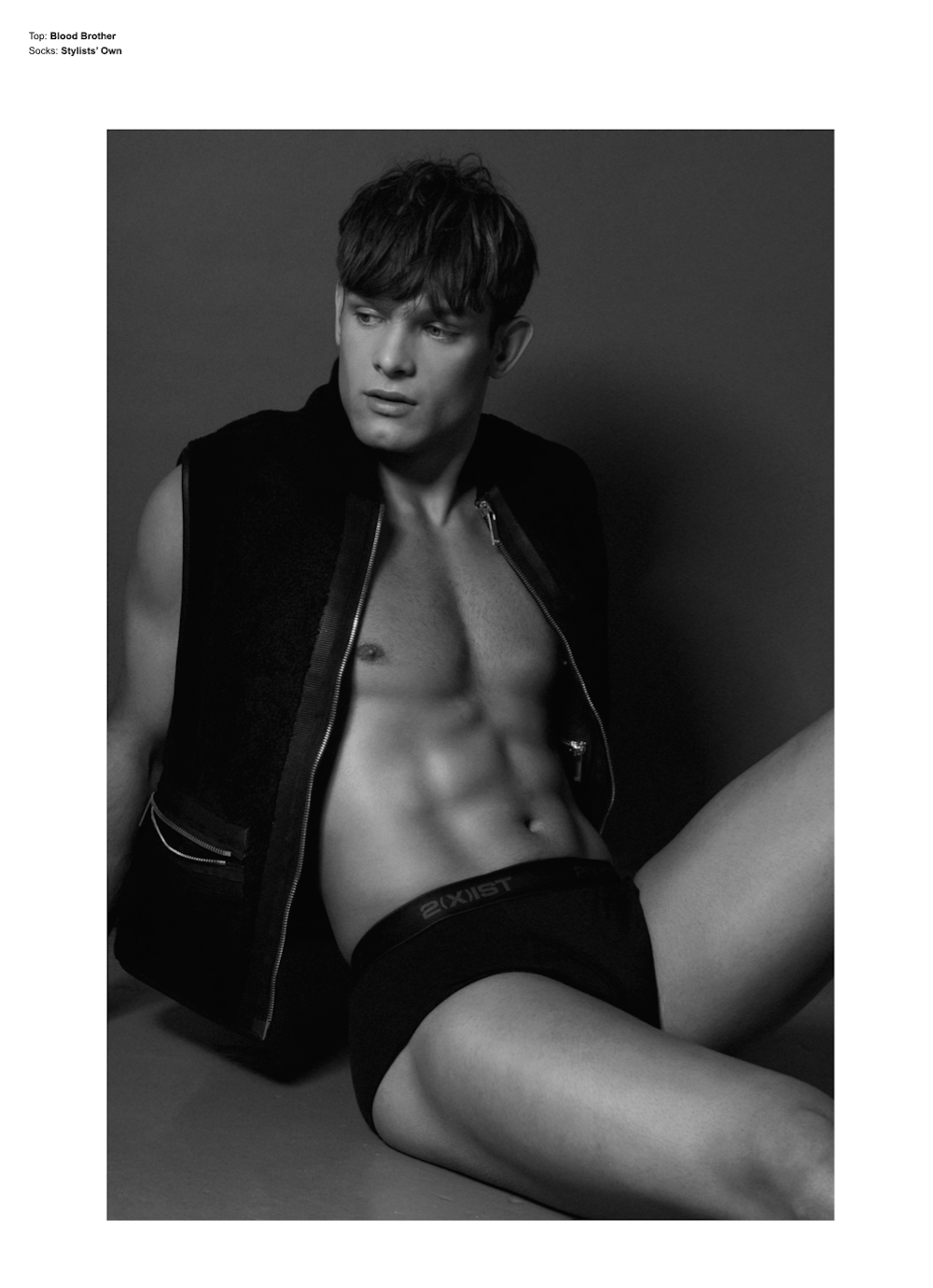 Elliott Reeder by Darren Skene for Desnudo Magazine