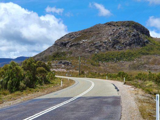 Lyell Highway, west coast Tasmania