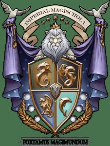 The Imperial Magischola Crest