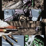 The Hulk  Pg02- Pencils/inks/colors