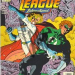 Justice League International #59 - Inks
