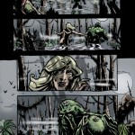 Swamp Thing Pg01 - Pencils/Inks/Colors