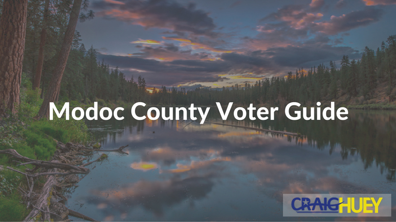 Modoc County Voter Guide