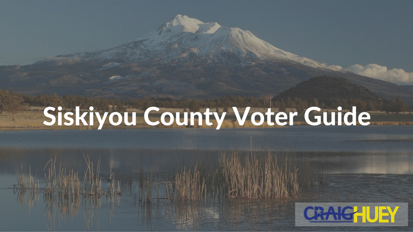 Siskiyou County Voter Guide