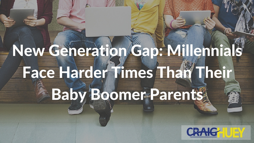New Generation Gap: Millennials Face Harder Times Than Their Baby Boomer Parents