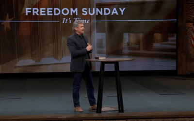 "Faith Over Fear, God Over Man: A Call For All Churches to Open Up and Have Indoor Services on October 25, 2020 – ""Freedom Sunday"" [Watch the video here]"