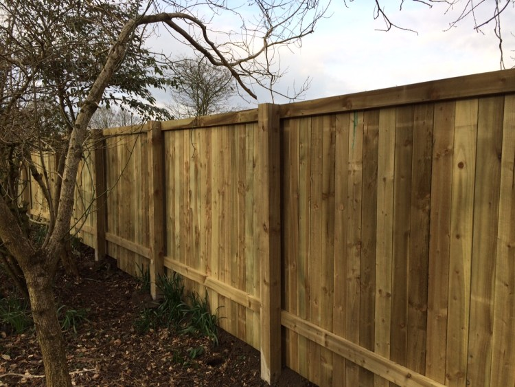 Pale and Rail Fencing