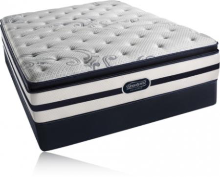 Simmons Beautyrest Recharge Cherrydale Plush Pillow Top Mattress