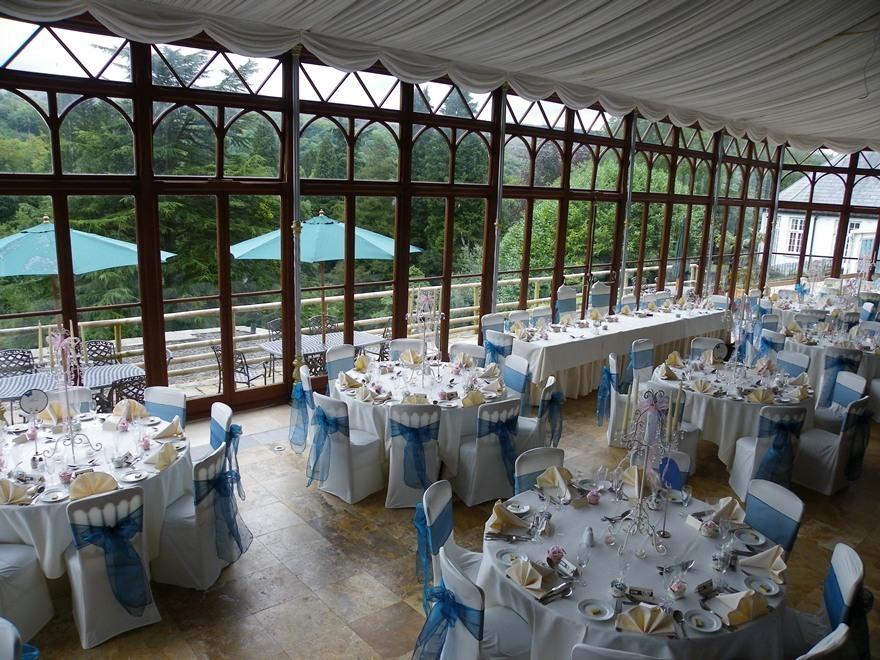 Conservatory Wedding Breakfast Room 45 Weddings In Wales At Craig Y Nos Castle