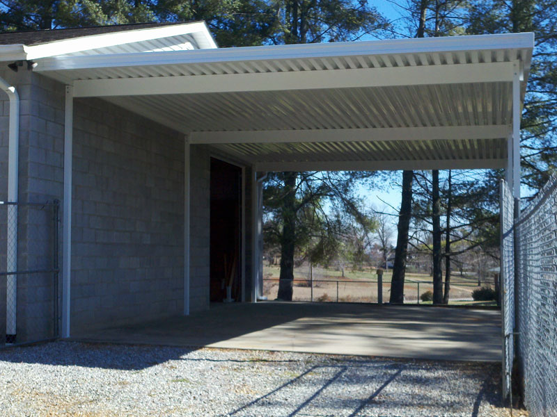 Carports With Storage Attached Photo
