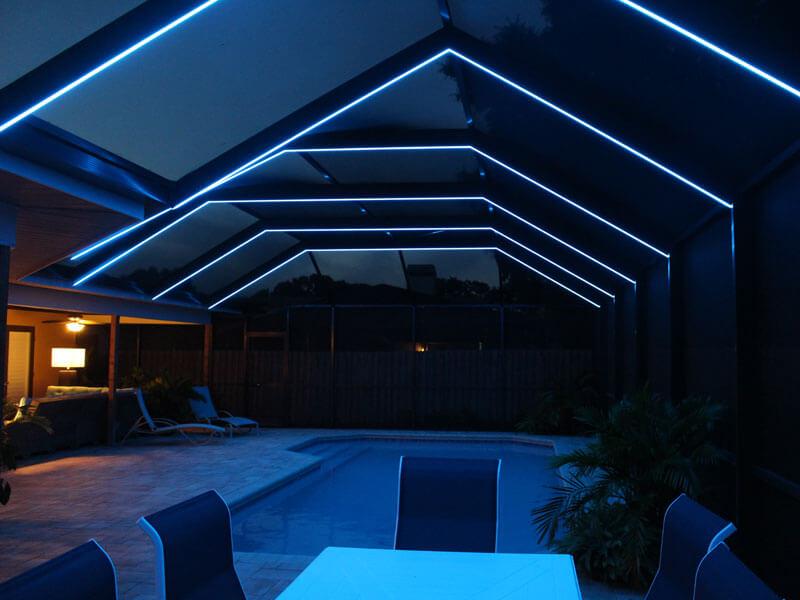 Led Lighting Pool Amp Lanai Cage Sarasota Ft Myers Tampa