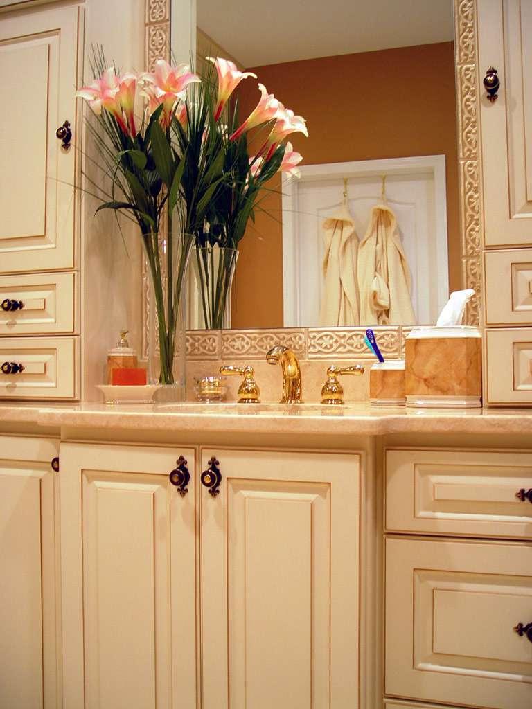 White Bathroom Redesign