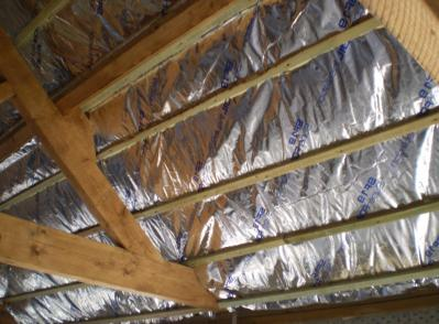 Pink Panther's Foil Insulation