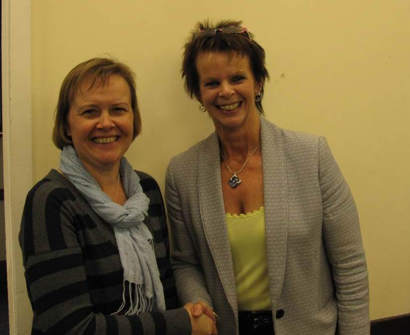 ANNE MILTON LENDS SUPPORT TO CRANLEIGH'S CIVIC SOCIETY