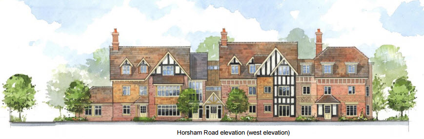 Horsham Road front elevation