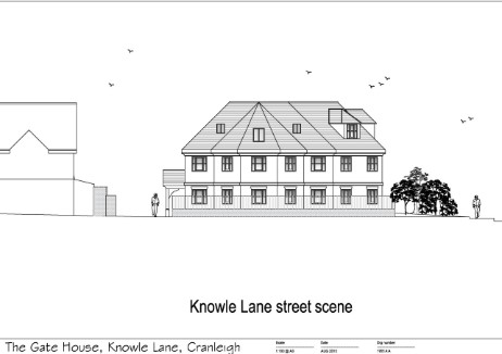 knowle lane gatehouse new flats