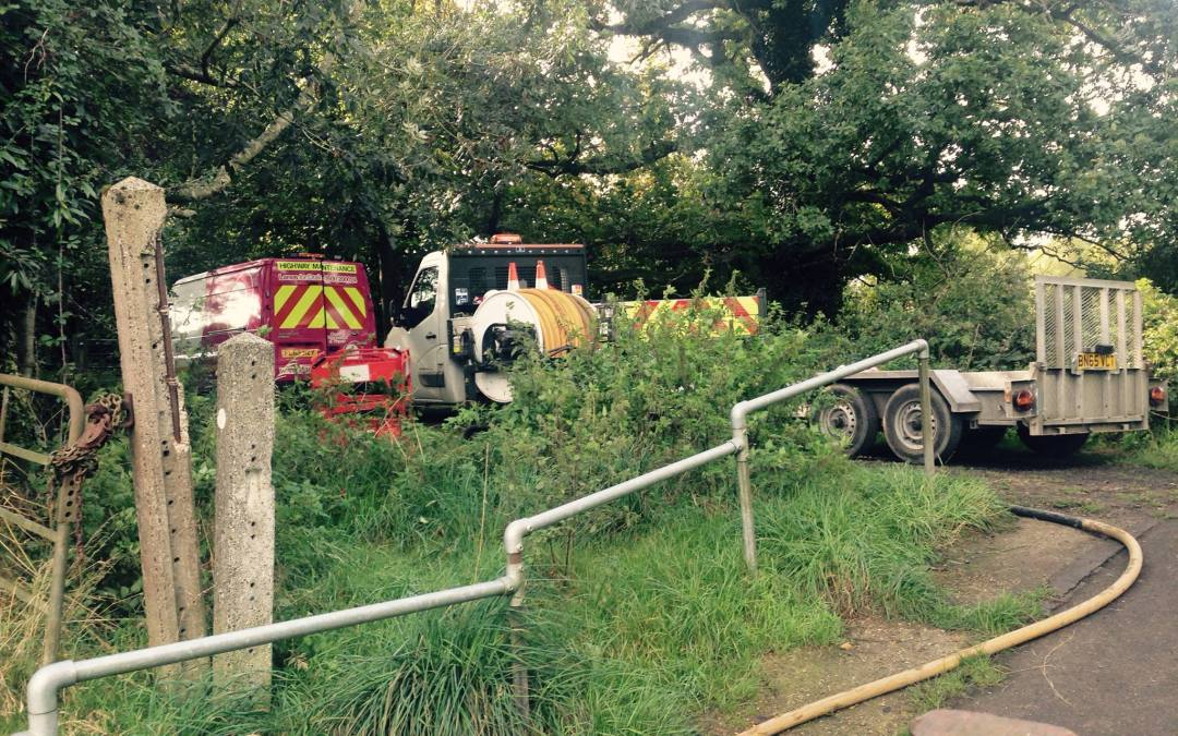 Northdowns Sewage Issues