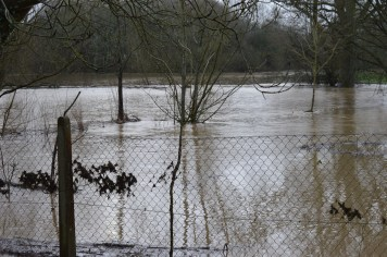 Elmbridge Road Flooding 15 January 2015