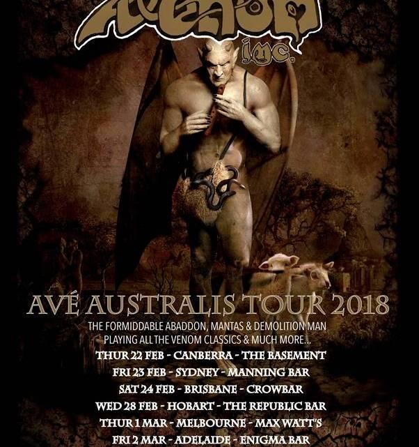 Show review Venom Inc Adelaide Enigma Bar Australia