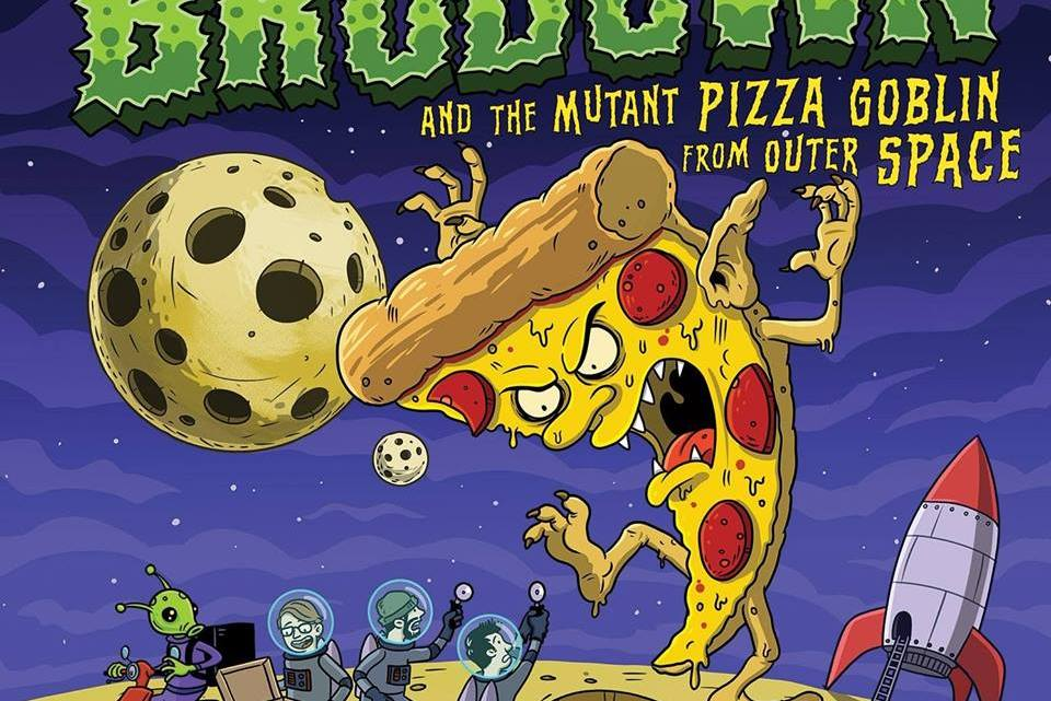 "Crannk Reviews ""The Adventures of Brodown and the Mutant Pizza Goblin from Outer Space"" from  BRODOWN"