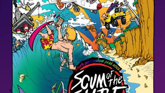 "Crannk Reviews Scum Of The Surf – ""The Thrills Of Modern Society"" album"