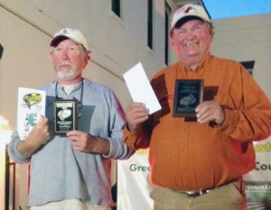 Johnny Walker and Rod Womack 3rd place 300