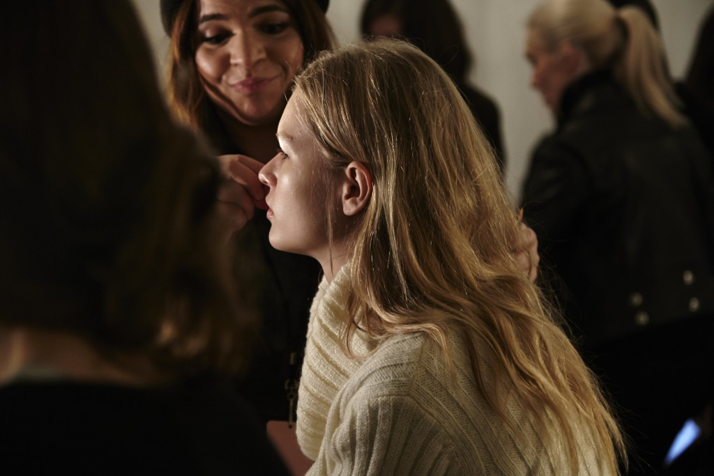 ANNA EWERS MODEL MODELS PHOTOGRAPHY FALL WINTER 2015 NEW YORK FASHION WEEK CRASH MAGAZINE PARIS BACKSTAGE TYLER NEVITT
