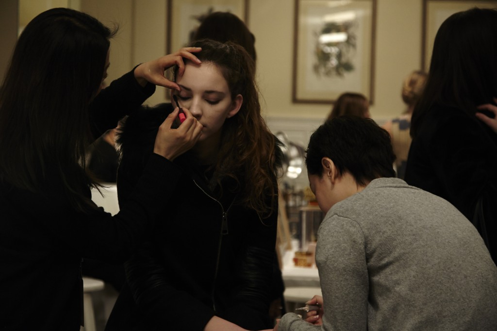 MODEL MODELS PHOTOGRAPHY FALL WINTER 2015 NEW YORK FASHION WEEK CRASH MAGAZINE PARIS BACKSTAGE TYLER NEVITT