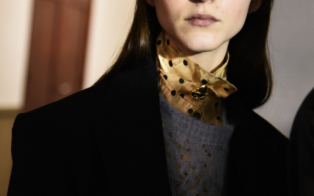BACKSTAGE AT CARVEN A/W 2018